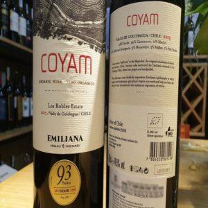 Rượu vang Chile Coyam đẳng cấp từ xuất xứ thương hiệu