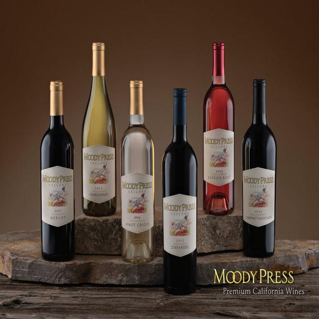 Rượu vang Moody Press Merlot - dòng rượu vang Mỹ chất lượng
