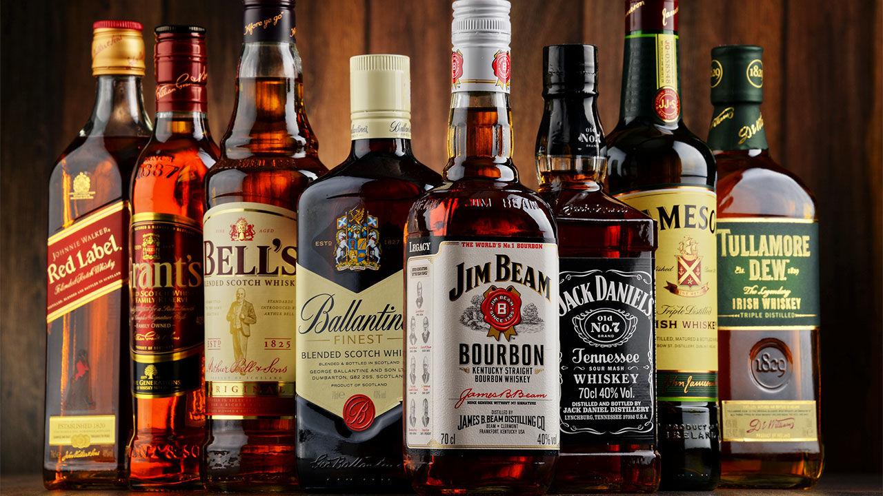 dòng rượu Scotch Whisky