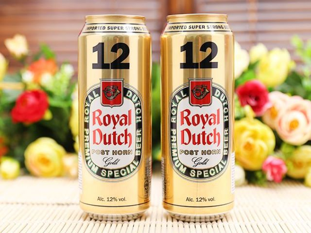 Bia Royal Dutch Gold