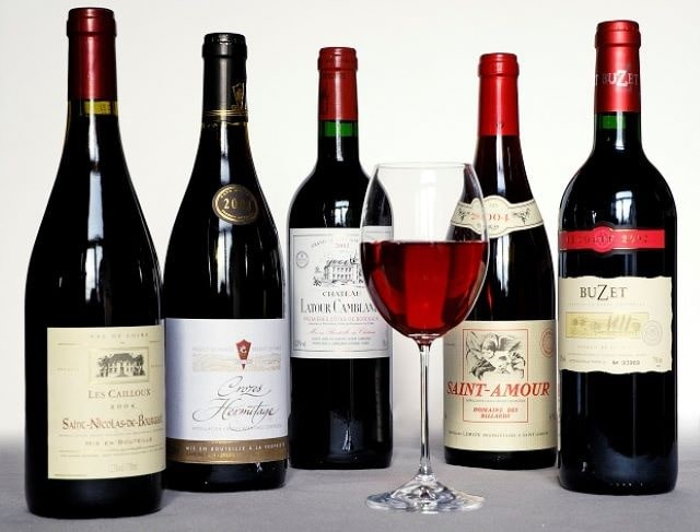 Cấu trúc của rượu vang nước Pháp