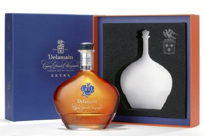 Một ví dụ về ký hiệu *** của rượu Cognac