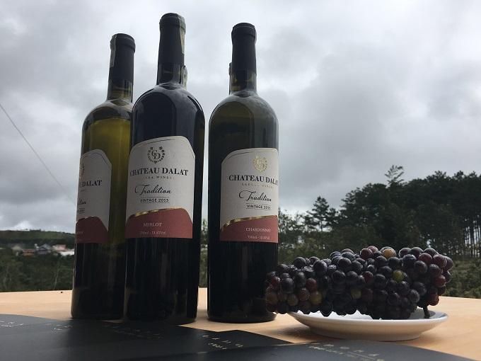 Nguyên liệu cấu thành hương vị đặc biệt cho rượu vang Đà Lạt