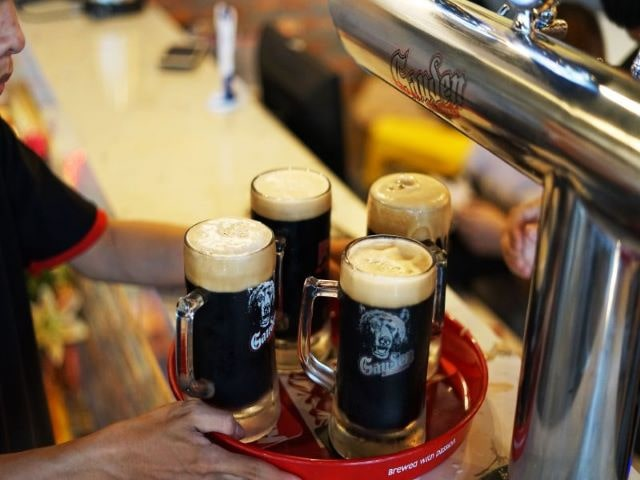 Nguyên liệu sản xuất bia