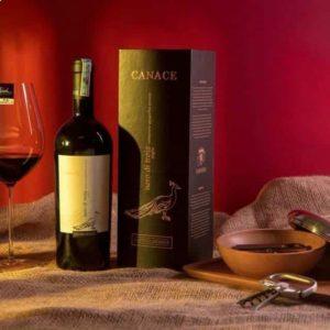 Rượu vang Canace Nero Di Troia niên vụ 2013