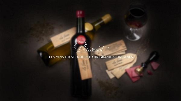 Rượu vang Le Faite Saint Mont dòng vang Pháp với kiểu thiết kế độc đáo