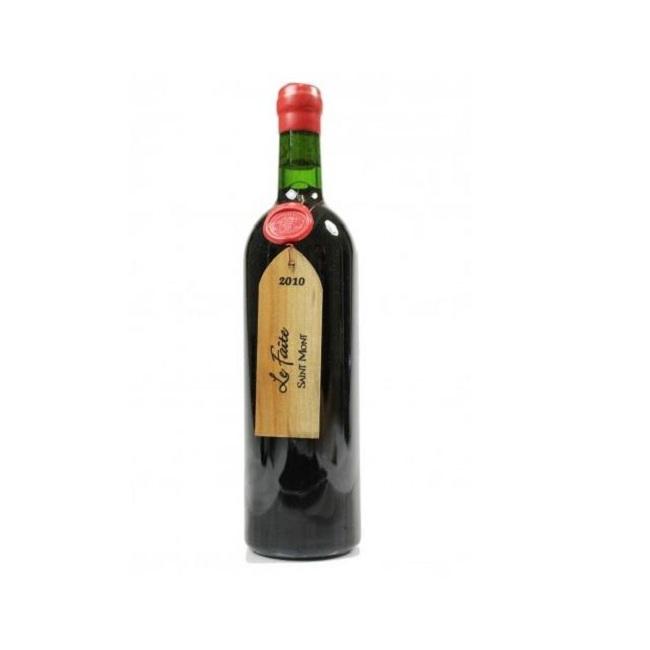 Rượu vang Le Faite Saint Mont mang hương vị nhẹ nhàng