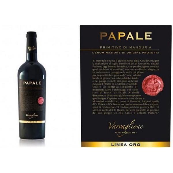 Rượu vang Papale Primitivo Puglia cao cấp của Ý