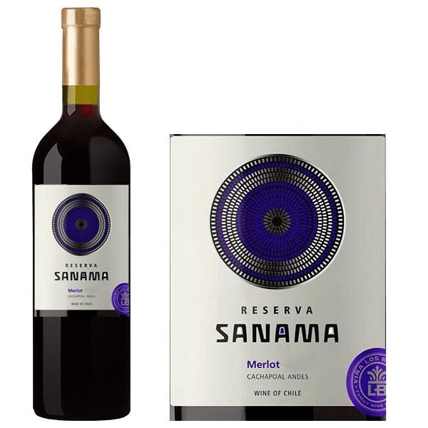 Rượu vang Sanama Merlot nổi tiếng
