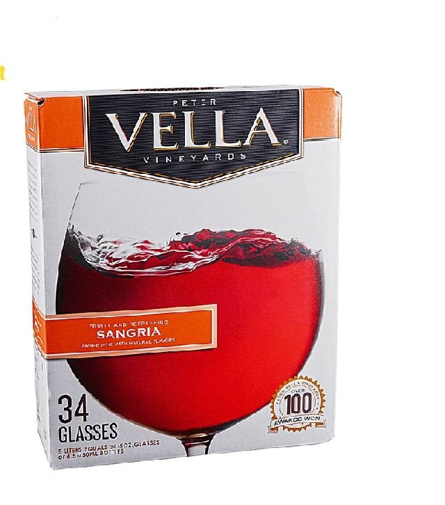 Sự phá cách đầy độc đáo của rượu vang bịch Vella Cabernet Sauvignon