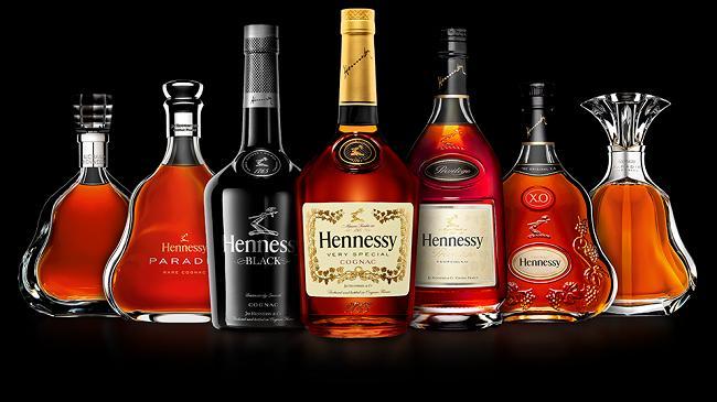 Thiết kế rượu nhà Hennessy cực kỳ sang trọng và cao cấp