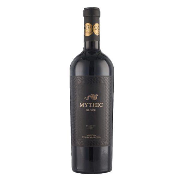rượu vang argentina mythic block malbec