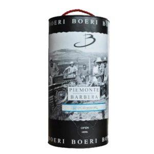 rượu vang ý Piemonte doc Barbera Bag in Tube 3 liters