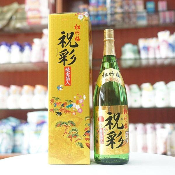 Bài thuốc trị bách bệnh từ rượu Sake vảy vàng
