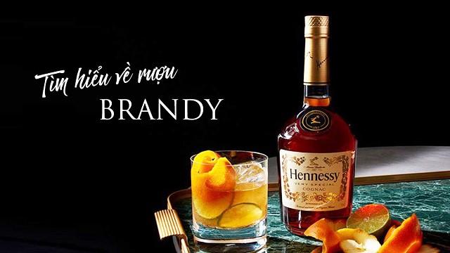 Brandy ngọt ngào hương vị của những loại trái cây