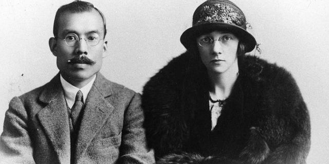 Cha đẻ của Whisky Nhật và vợ của ông