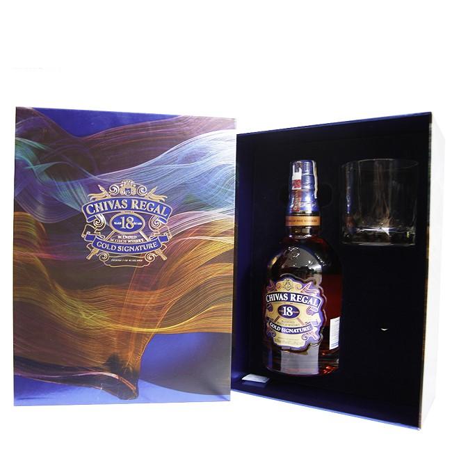 Chivas 18 Years Old hộp quà tết sang trọng và ý nghĩa