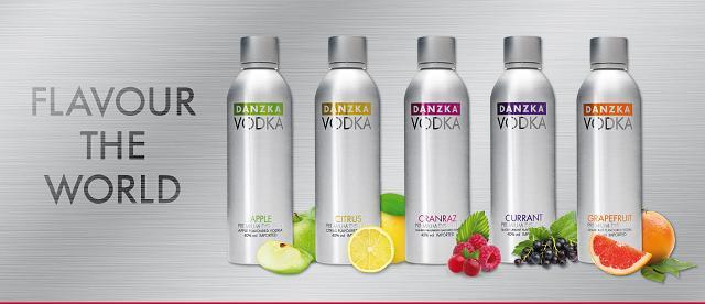 Dòng Vodka trái cây được ưa chuộng