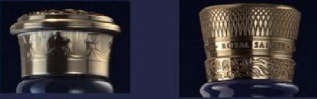 Hình ảnh nắp chai cũ (bên trái) và mới (bên phải)