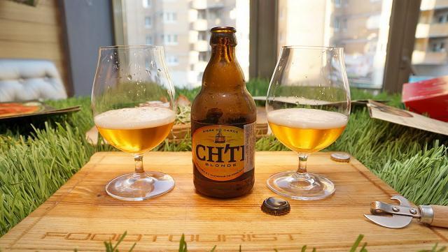 Hương vị hoàn hảo của ly bia Ch'ti Triple
