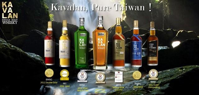 Kavalan và thương hiệu rượu Whisky Đài Loan trên toàn thế giới