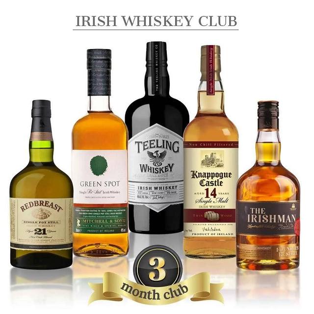 Những chai rượu Whisky Ireland biểu tượng cho sự mạnh mẽ