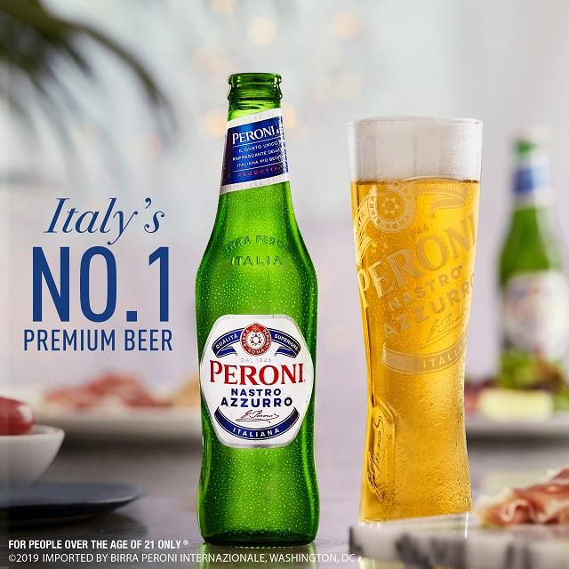 Peroni đẳng cấp thương hiệu bia số 1 tại Ý