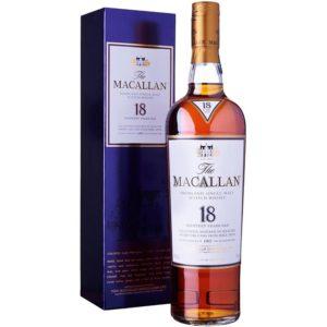 Phong cách sang trọng của dòng rượu Macallan 18 năm