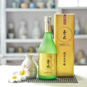 Rượu Tamanihikari Junmai Daiginjo Bizen Omachi 1800ml