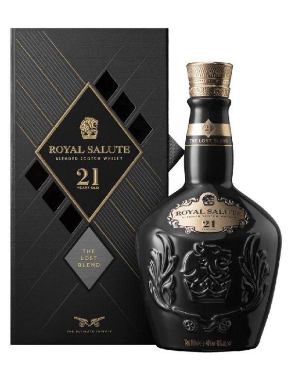 Royal Salute 21YO Lost Blend câu chuyện dành riêng cho những người sành rượu