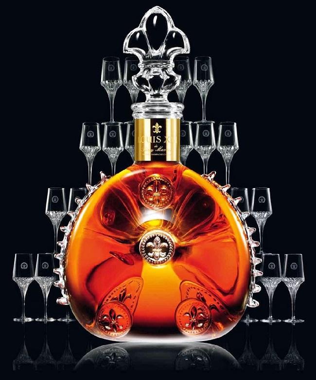 Rượu Louis III XO 0.75L phong cách rượu hoàng gia