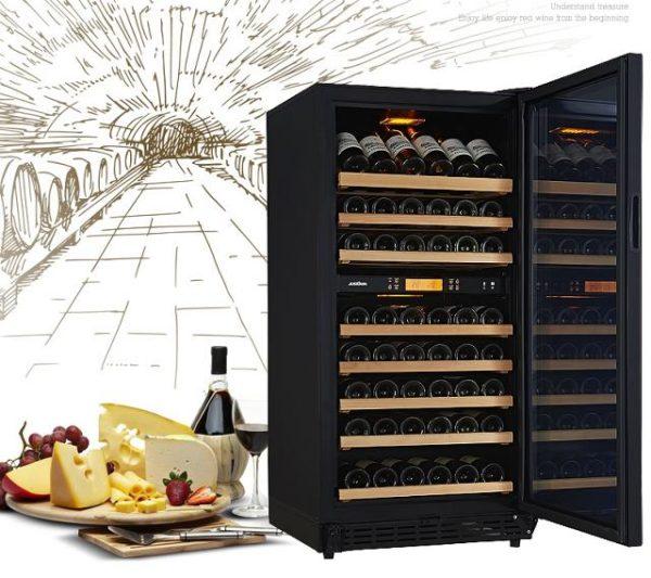 Rượu vang chính là lý do để bạn sở hữu một chiếc tủ bảo quản chuyên dụng