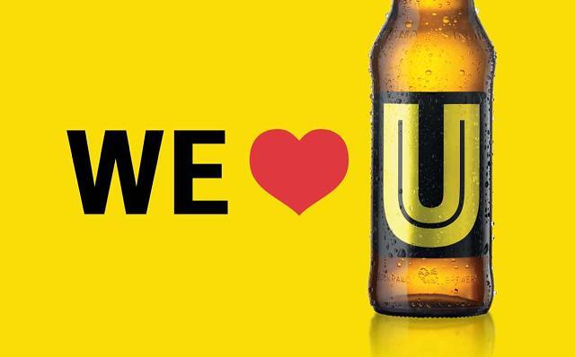 Sắc vàng hút mắt của U Beer
