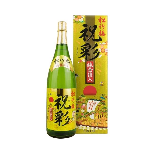Sake vảy vàng Gold foil Jummai sự phối hợp độc đáo