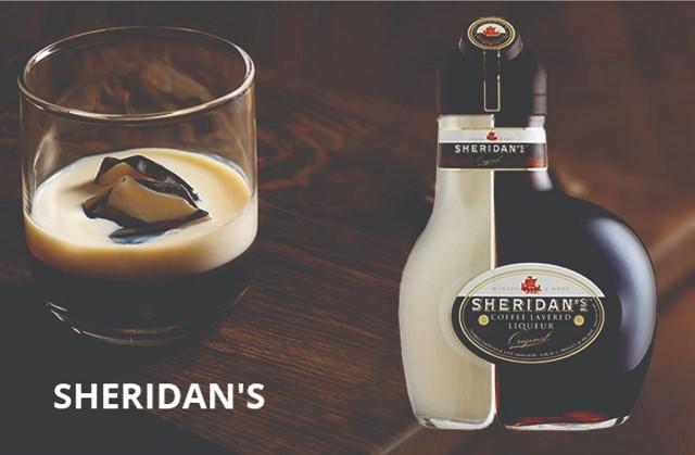 Sheridan's đối thủ đáng gờm của rượu sữa Baileys