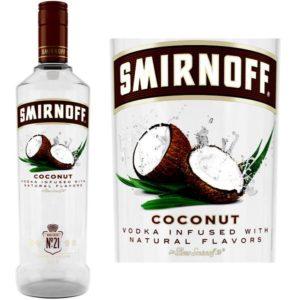 Smirnoff Vodka Coconut hương thơm vị dừa ngọt ngào