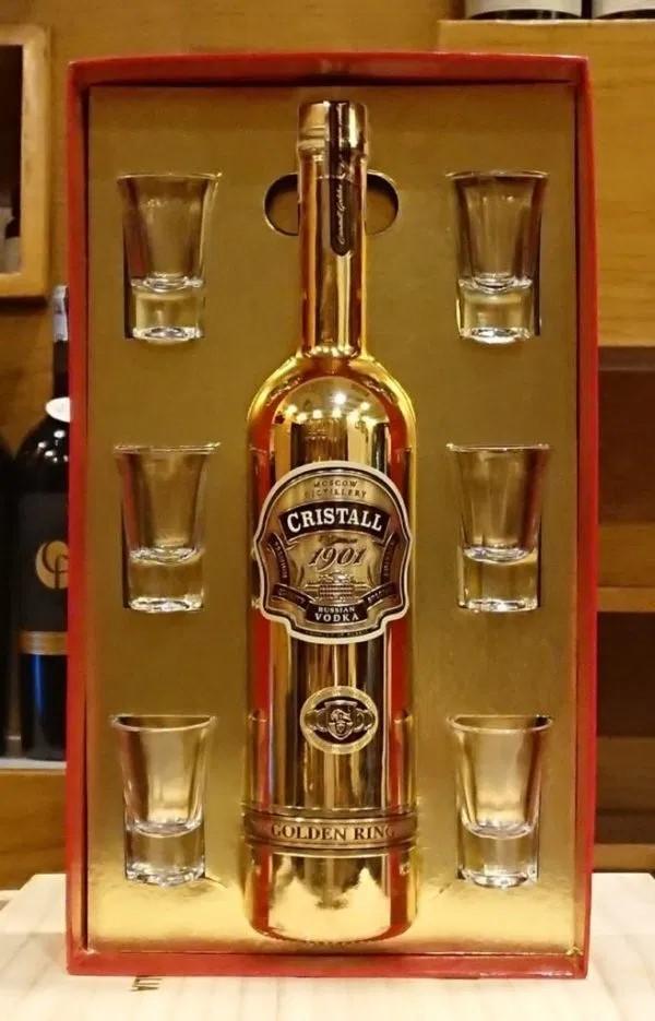 Thiết kế hộp quà cực sang trọng cho phiên bản đặc biệt chào mừng kỷ niệm nhà máy Cristall