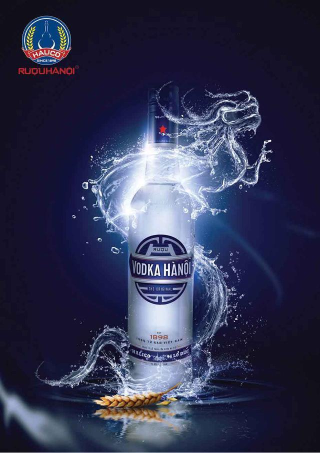 Thương hiệu rượu Vodka quốc nội được người tiêu dùng đón nhận nồng nhiệt