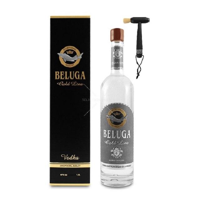Vodka Beluga – đẳng cấp của thứ rượu hạng sang