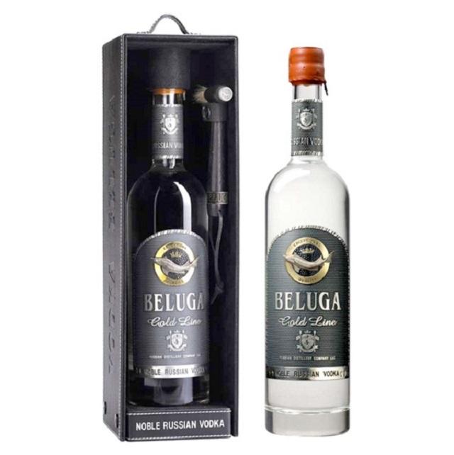 """Vodka Beluga – say trong hương vị ngất ngây của """"nữ hoàng rượu Nga"""""""