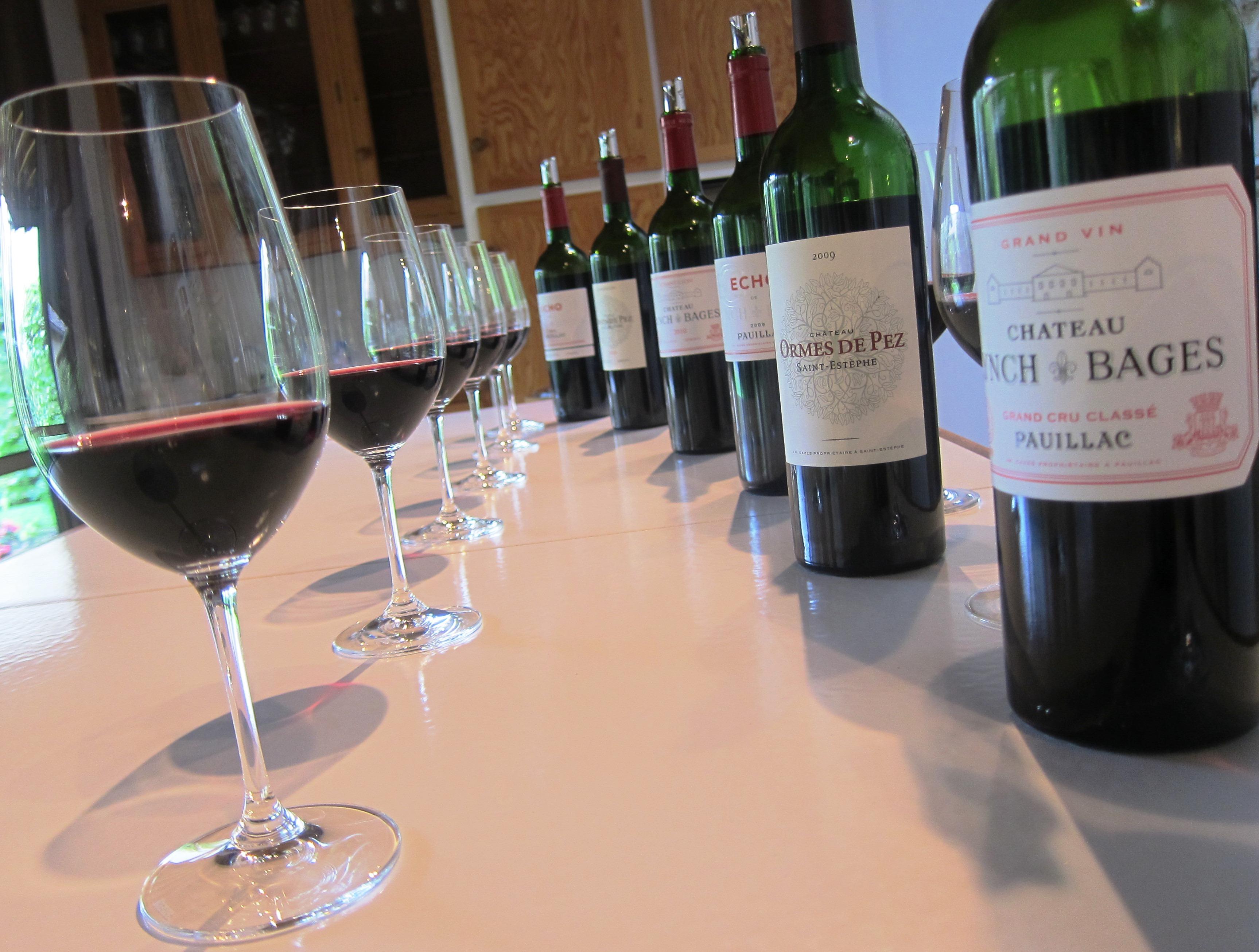 hương vị rượu vang Pháp Pauillac