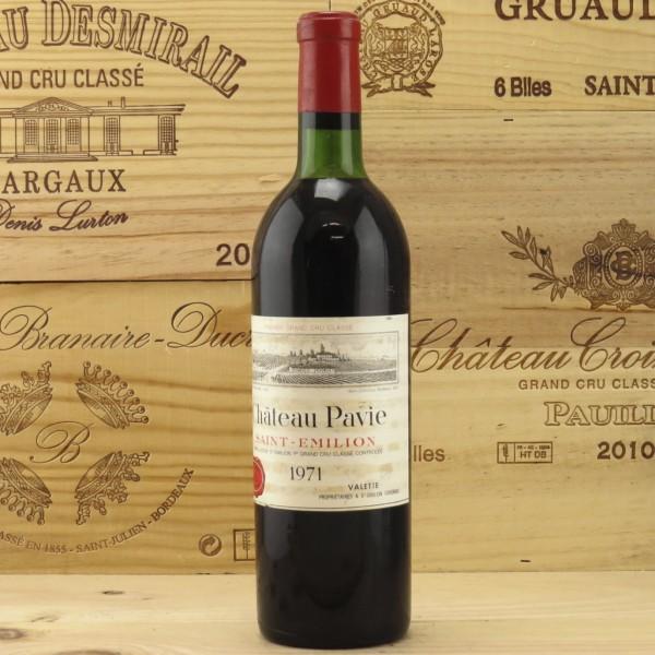 rượu vang Pháp chateau pavie vùng saint emillion