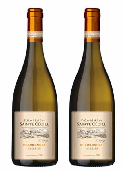 rượu vang pháp vùng Pay d'oc Chardonnay